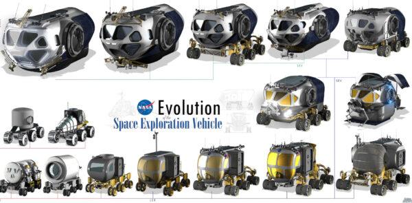 Vývoj zařízení MMSEV (Multi Mission Space Exploration Vehicle)