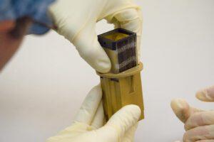 Optika miniaturizovaného rentgenového dalekohledu cubesatu VZLUSAT-1
