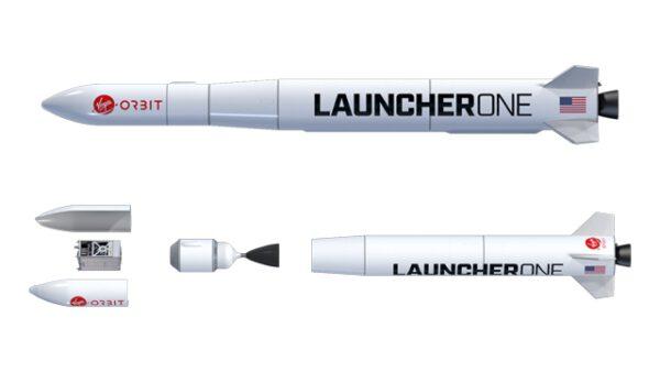 Dvoustupňová raketa LauncherOne na kapalné pohonné látky