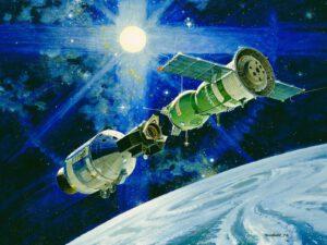 Program Sojuz-Apollo pohledem výtvarníka