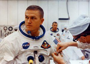 Frank Borman v den startu Apolla 8