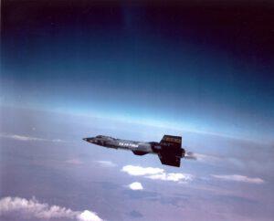 Fenomenální hypersonický raketový kluzák X-15