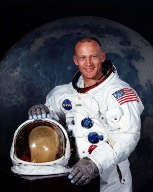 Aldrin v červenci 1969