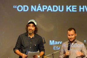 Na pódiu s Jakubem Kohákem se vystřídala řada hostů a jedním z nich byl i Marek Aldorf.