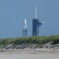 Falcon Heavy za dunou