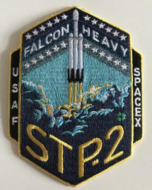 Nášivka s emblémem mise STP-2