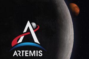 Nové logo misí Artemis