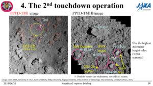 Okolí místa pro druhý odběr vzorků sondou Hayabusa 2.