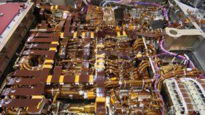 Dokončený interiér těla roveru Mars Rover 2020