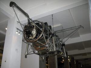 Zařízení TMR (Thrust Measuring Rig) firmy Rolls Royce je dnes k vidění ve Science Museum v Londýně.