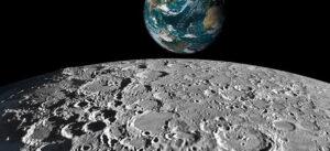 Jeden z pěkných snímku pořízených družicí Měsíce Kaguya