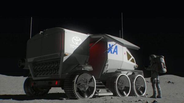 Společný projekt JAXA a Toyoty se bude snažit vyprojektovat vozidlo pro měsíční povrch