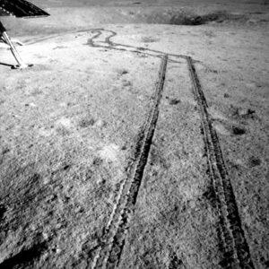 Fotografie vlastních stop pořízena kamerou Nefritového králíka 2