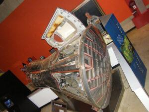 """Hlavním exponátem """"Armstrongova muzea"""" je loď Gemini 8"""