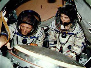 Thagard a Dunbar během výcviku
