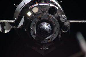 Sojuz MS-13 při letošním připojení ke stanici