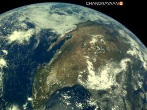 Mexiko a Spojené státy pohledem sondy Chandrayaan-2