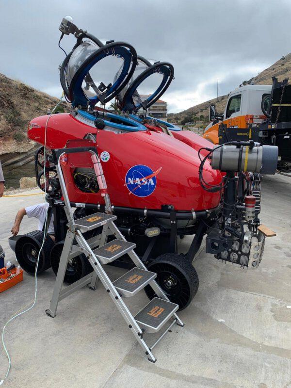 Nová dvoumístná ponorka