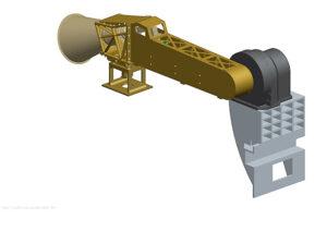 Návrh antény MGA pro sondu Solar Orbiter.