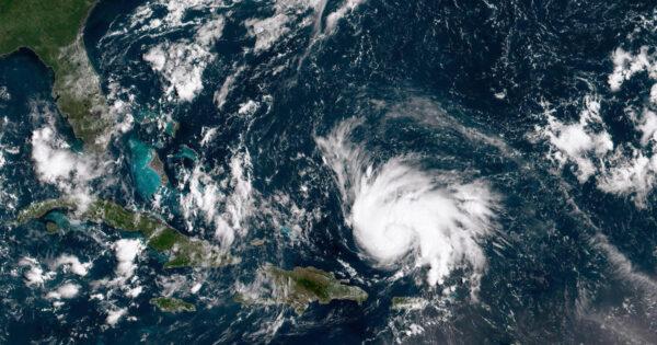 Hurikán Dorian ještě nad Karibikem