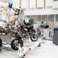 Zkoušky kamer roveru Perseverance.
