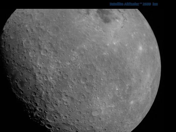 Měsíc z paluby Chandrayaan 2