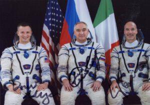 Posádka Sojuzu MS-13 (start 21. července 2019), která si aktuálně užívá slasti i strasti života na oběžné dráze