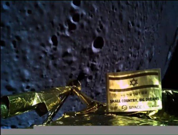 Pokus izraelské sondy Beresheet o přistání na Měsíci