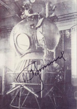 Podpis Alexeje Leonova na sovětském lunárním modulu