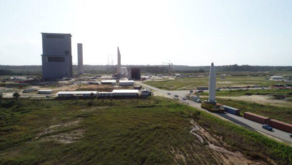 Rampa pro Ariane 6 by měla být dokončena za několik měsíců.