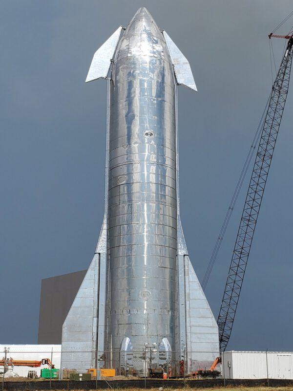 Kompletní Starship