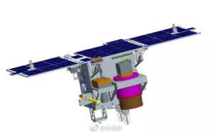 Vizualizace družice BNU-1