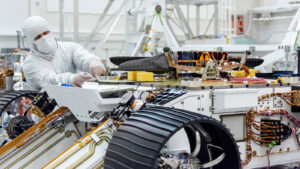 Instalace Mars Helicopter