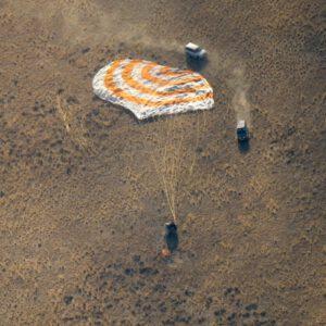 Sojuz MS-12 po přistání