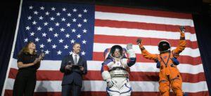Nové skafandry do Orionu a pro program Artemis