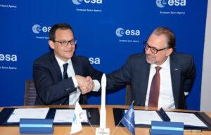 Uzavření dohody na vynesení mise Biomass.