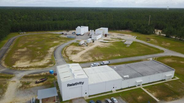 Testovací stanoviště E4 na Stennisově středisku.