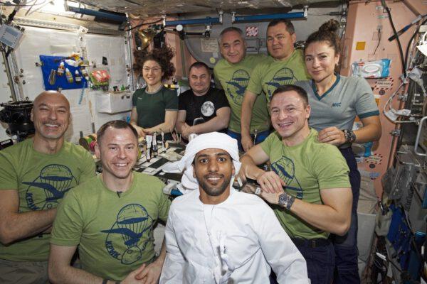 Devítičlenná posádka ISS