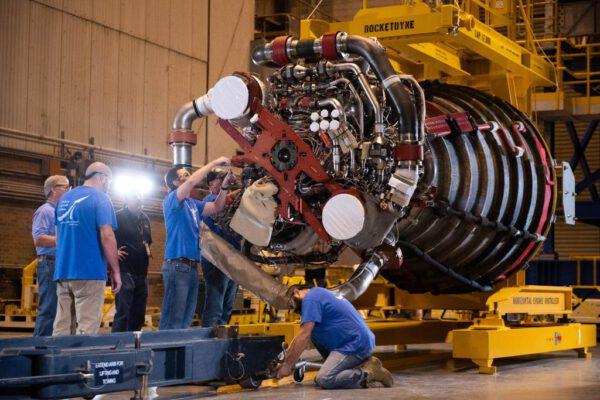 Motor RS-25 pro misi Artemis 1