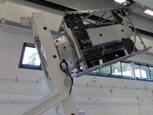 Základní kostra letového modelu sondy JUICE.