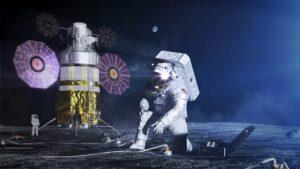 Mise Artemis mají přistát v okolí jižního pólu Měsíce, kde se vertikální panely hodí více.
