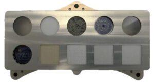 Letový model kalibračního terče přístroje SHERLOC.