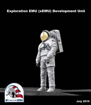 Vizualizace skafandru xEMU (Exploration Extravehicular Mobility Unit)