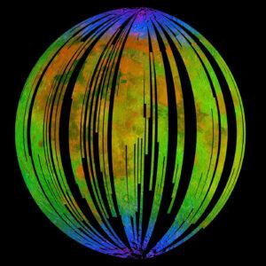 Přístroj Moon Mineralogy Mapper na sondě Chandrayaan-1 změřil, že v obalstech měsíčních pólů je vyšší koncentrace hydroxidů.