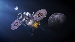 Umělecká představa pilotovaného landeru