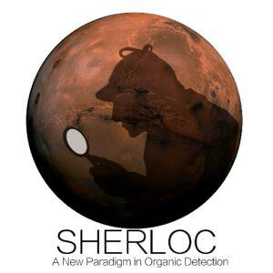 Logo přístroje SHERLOC
