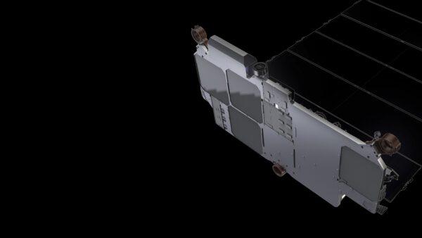 Vizualizace podoby družic Starlink