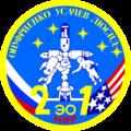 Emblém jedenadvacáté expedice na Mir