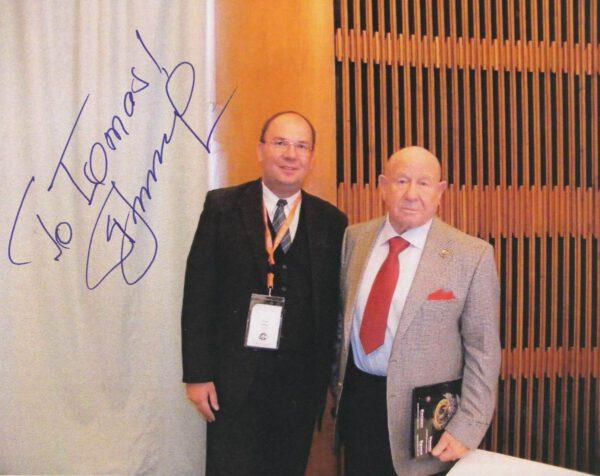 To nej(osobnější) na konec: osobní setkání, osobní věnování – kongres ASE v Praze (2009)