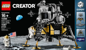 Lunární modul z dílny LEGO je opravdu povedený